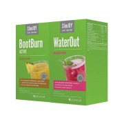 SlimJOY WaterOut + BootBurn Active 1+1 GRATIS- Körper entwässern und effektiv abnehmen. 25 Beutel