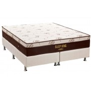 Conjunto Box-ColchãoOrtobom Sleep King+Cama - King 193