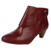 Clarks Women's Lucilla Denny Burgundy Fashion Sandals - 6 UK