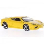 "Bburago 3"" 1/64 Ferrari Challenge Stradale Yellow"