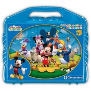 Puzzle cuburi Clementoni - Mickey Mouse Club House, 24 piese (44693)