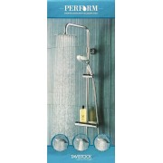 Tavistock Perform Shower System With Accessory Shelf