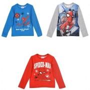 Spider-Man Spiderman Långärmad T-shirt (Röd, 8 ÅR - 128 CM)