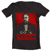 Godfather - The Don Wide Neck Tee