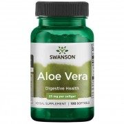 Swanson Aloe Vera 25 mg 100 kapslí - 100 kapslí