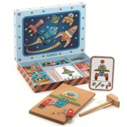 Set cu nave spatiale de asamblat Tap Tap Djeco