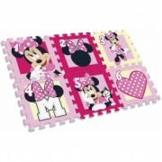 Covor puzzle Minnie Mouse 6 piese SunCity EWA20123WD