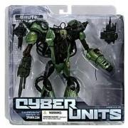 Cyber Units Ultra Action Figure: Brute Unit 001 - Green