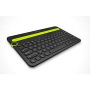 Logitech K480 Bluetooth Multi-Device Keyboard - Svart