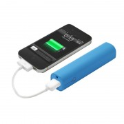 iLogoTech Power Music 4000mAh PowerBank mit Bluetooth Lautsprecher, blau