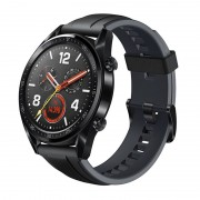 HUAWEI WATCH GT Sport Armband 5ATM waterdicht Bluetooth Fitness Tracker Smart Watch steun hartslag / druk controle / oefenen / stappenteller / slapen Monitor / Call herinnering / sedentaire Reminder(Black)