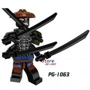 Generic 50pcs Ninja Masters of Spinjitzu Movie Kai Jay Cole Zane Lloyd Wu NYA Ronin GARMADON Building Block Bricks for kit Children Toys PG1063