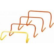 Tactic Sport mini gát szett fix 23 cm-es magassággal, 6 db-os készlet, narancs szín