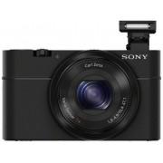 Sony Cyber-Shot DSC-RX100 Digitalkamera 20.2 Megapixel Zoom (optisk): 3.6 x Svart Full HD Video
