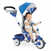 Tricicleta perfect fit albastra