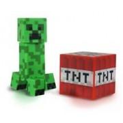 Set 2 Figurine Minecraft Creeper Action 3 Inch