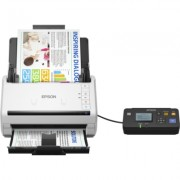 Scanner EPSON WorkForce DS-530N, A4, Letter, 600 dpi x 600 dpi (Horizontal x Vertical), Input: 24 Bits Color, 50 Pages, Yes, Ski