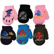 CUTIE WITH BEAUTY 6 pair assorted infants woolen mitten For baby Winter Care - Multicolor - Soft - Warm - Cute
