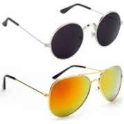 Vitoria Round Sunglasses(Multicolor)