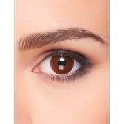 Lentillas fantasía ojo marrón adulto Única