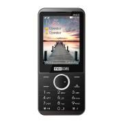 Maxcom MM235 mobiltelefon, dual sim-es kártyafüggetlen, bluetooth-os, fm rádiós fekete