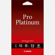 """Canon Papier photo 4 × 6"""" (10 × 15 cm) Pro Platinum Canon PT-101 - 50 feuilles"""