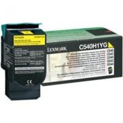 Lexmark C540H1YG Toner Geel Hoge capaciteit