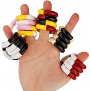 Mas Popular Juguete Flexible Anillo Retorcido Descompresión Socorro Autismo Toy, Color Al Azar Entrega
