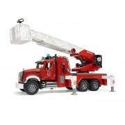 BRUDER 02821 MACK Granit Liebherr Mașină de pompieri
