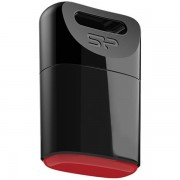 USB DRIVE, 16GB, Silicon Power Touch T06, USB2.0, Black (SP016GBUF2T06V1K)