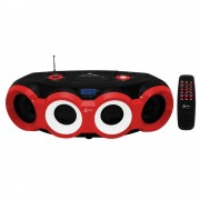 SOM PORTÁTIL CD PLAYER LENOXX Bluetooth FM 60w
