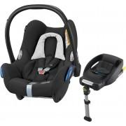 Maxi-Cosi CabrioFix Babyschale, Black Grid & EasyFix Basis
