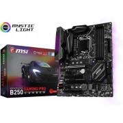 MSI B250 GAMING PRO CARBON Intel B250 LGA 1151 (Socket H4) ATX moederbord
