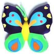 Baby Oodles Multicolor 3D Butterfly Shaped Pillow/ Cushion For Kids