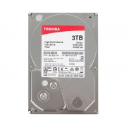 "TOSHIBA 3TB 3.5"" SATA III 64MB 7.200rpm HDWD130UZSVA P300 series bulk"