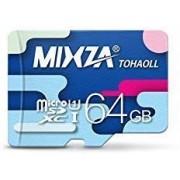 MIXZA Tarjeta microSDXC de 64 GB verificada para DELL XPS 10 es Resistente a la Velocidad, al Calor y al frío, y diseñada para un Uso Constante de por Vida. (UHS-I/3.0/80MB/s)