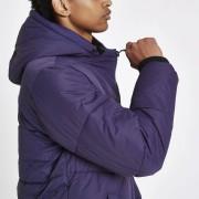 River Island Mens Purple funnel neck puffer jacket (XXS)