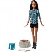 Papusa Barbie si Focul de Tabara - Camping Fun