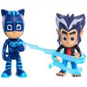Set 2 figurine Eroi in pijama - Pisoi si Howler
