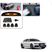 Auto Addict Car Black Reverse Parking Sensor With LED Display For Audi A7