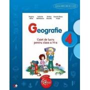 Geografie. Caiet de lucru pentru clasa a IV-a/Virginia Alexe, Gabriela Brabulescu, Violeta Dascalu, Daniela Elena Ionita