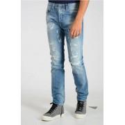 Diesel Jeans BUSTER L.32 in Denim Con Strappi 18cm taglia 30