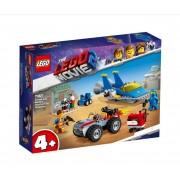 Set de constructie LEGO Movie Atelierul Construieste si repara al lui Emmet si Benny