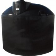 Snyder Industries Vertical Natural Above Ground Water Tank - 1500-Gallon Capacity, Black, Model 10127008120100W94201