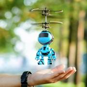 Jucarie interactiva Robot care zboara, reincarcabila cu USB