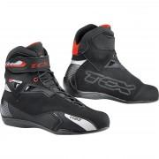 TCX Motorrad-Stiefel kurz Motorrad-Schuh TCX Rush Waterproof Stiefel schwarz 36 schwarz