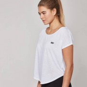 Myprotein Scoop Hem T-Shirt - XL - White