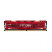 16GB DDR4-2400MHz Crucial Ballistix Sport LT Red CL16 SRx8 uDIMM