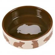 Trixie Comedero de cerámica para hámster - Hámster 80 ml, Ø 8 cm