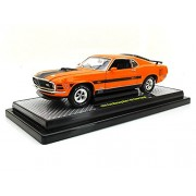 "1970 Ford Mustang Mach 1 428 ""Twister Special"" 1/24 Grabber Orange"